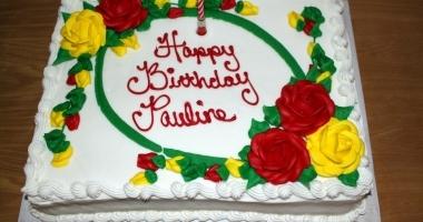 16 The Birthday Cake