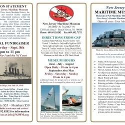 2018 NJ Maritime Museum Brochure