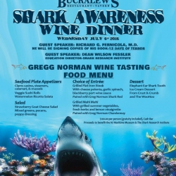 12 Days of Terror – Shark Awareness Wine Dinner